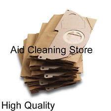 FIVE Karcher A2004 A2054 A2024 Paper Filter Dust vacuum cleaner hoover Bags 5PK