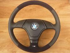 Lederlenkrad M Lenkrad BMW E34 E36 Z3 mit Airbag NEU LEDERRBEZUG mit ALCANTARA
