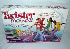 HASBRO TWISTER MOVES 3 CD's GAME AGE 8 & UP DANCE TO THE MUSIC FUN PLAY