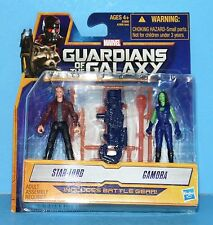 HASBRO GUARDIANS OF THE GALAXY MINI Action Figure STAR LORD AND GAMORA