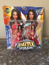 WWE Diva Bella Twins Nikki Brie MOC Battlepack w/ Diva Championship dull belt