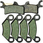 Front Rear Kevlar Carbon Brake Pads - 2004 2005 POLARIS 700 Sportsman 4x4 EFI