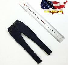 "1/6 stretch Jeans SLIM  fit 12"" female figure kumik Hot toys phicen verycool USA"