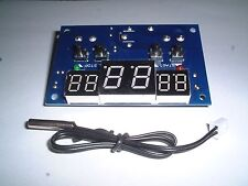 DC12V   Digital Thermostat Temperature Controller +sensor  UK Stock