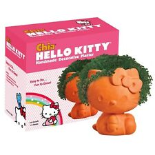 Hello Kitty Chia Pet Handmade Decorative Planter- NIB