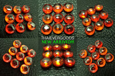 REAL NAGA GEM 9 ORANGE COLOR MINI SET POWER PROTECT LIFE THAI AMULET