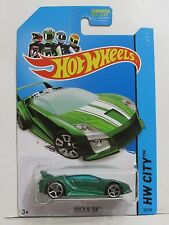 HOT WHEELS 2014 HW CITY - SPEED TEAM QUICK N' SIK