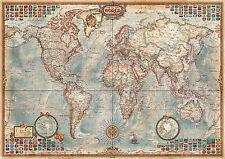 PUZZLE 1500 PIEZAS teile pieces MAPA POLITICO - POLITICAL MAP - EDUCA 16005