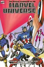 Essential Official Handbook Of The Marvel Universe Volume 1 TPB (Essential (Mar