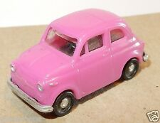 RARE MICRO IMU HIGH TECH HO 1/87 FIAT 500 ROSE
