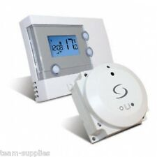 SALUS rt500bc Programmable Room TERMOSTATO CALDAIA CONTROLLO WIRELESS RF STAT