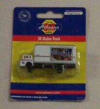 Athearn N 1/160 Ford C Georgia USPS US Mail Delivery Van Box Truck Rare
