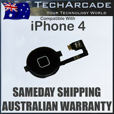 iPhone 4 4G Home Button with Flex Cable Ribbon Menu Switch Key Black OEM New