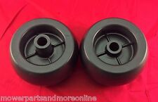 2 x LAWN MOWER DECK WHEEL TORO, FERRIS, WRIGHT, HUSTLER,  HUSQVARNA, BAD BOY