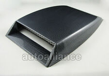 Carbon fiber Look Decorative Air Flow Intake Hood Car Scoop Vent Bonnet Cover