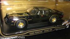 1/18 GREENLIGHT 1980 PONTIAC TRAMS AM SMOKEY AND THE BANDIT LTD ED AWESOME 12944