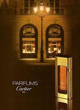 1982 Cartier Paris Perfume Fragrance Print Ad Vintage Advertisement VTG 80s