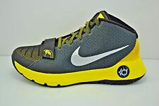 Mens Nike KD Trey 5 III Basketball Shoes Sz 10.5 Black Silver Yellow 749377 007