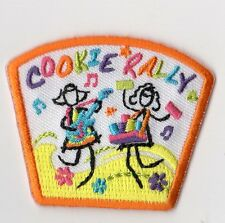 Cookie Sale Incentive Cookie Rally~Girl Scouts Fun Patch Badge