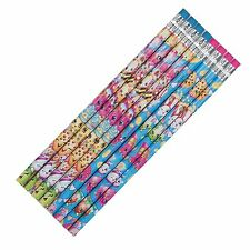 8 Shopkins Children's Birthday Party Favors Gifts Loot Pencils