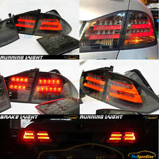 06 07 08 09 10 11 ACURA CSX FD LED BAR STRIP TUBE SMOKE Rear Tail Lamp TYPE R