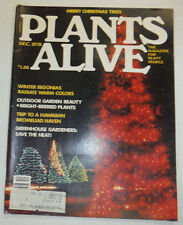 Plants Alive Magazine Winter Begonias Radiate Warm Colors December 1978 020515R