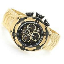 NEW Invicta Reserve 56mm Thunderbolt Gold Tone Chronograph Stainless Steel 21346