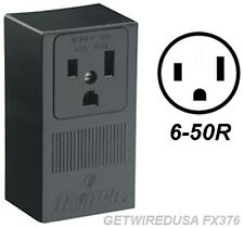 WELDER 3-PRONG 6-50R FEMALE RECEPTACLE 3-PIN POWER CORD PLUG IN BOX WALL OUTLET