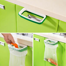Hanging Kitchen Cupboard Cabinet Tailgate Stand Storage Garbage Bags Rack