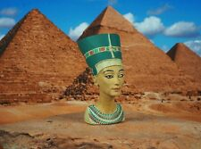 Egypt Egyptian Civilization Pyramid Pharaoh Queen Nefretiti Cake Topper K1166 B