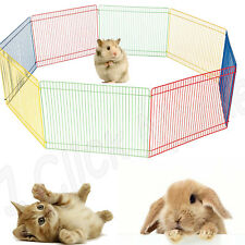 SMALL PET PLAYPEN Indoor Dog Cat Cage Outdoor Portable Exercise Pen Kennel Fence