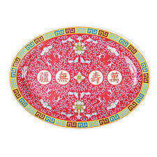 """CHINESE MELAMINE 8"""" OVAL PLATE"""