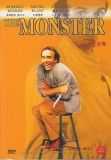 THE MONSTER (IL MOSTRO) ~ ROBERTO BENIGNI DVD (Sealed)
