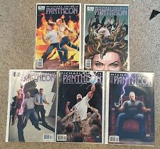 Michael Chiklis PANTHEON vf/nm COMPLETE SERIES  #1-5 IDW canada seller