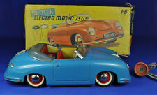 Blechauto / Tin Car Distler Electromatic 7500 blau / blue, Porsche 356, 1955-62