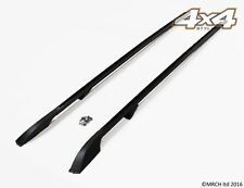 For Land Rover Discovery 3 & 4 Luxury Extended Black Roof Rails Set