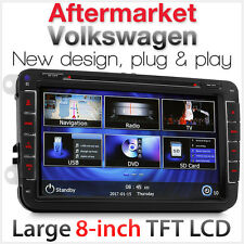 "8"" Car DVD Player GPS For Volkswagen VW Amarok Golf Polo Stereo USB MP3 Radio AT"