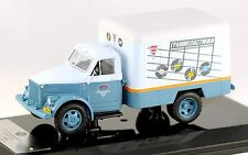 "Rare 1/43 DIP MODELS 105171 GAZ 51 KI-51 BOX VAN  ""Vinyl Records"" NIB"