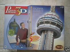 Wrebbit Puzz 3D puzzle CN TOWER  NEW Factory Sealed Box