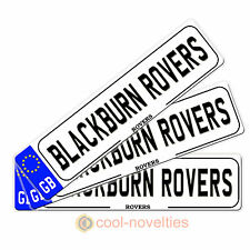"MINI NOVELTY NUMBER PLATE/BOOKMARK "" BLACKBURN  ROVERS"" GIFT FOR FOOTBALL FANS"