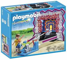 NEW Playmobil Summer Fun Festival TIN CAN Shooting Game 5547 *Retired