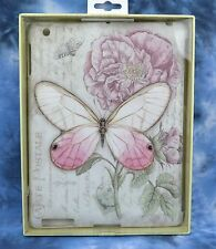 Lang iPAD 2/3/4 Snap-On Case Inspirational Butterfly Flower New by Jane Shasky