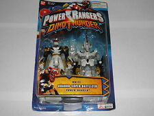 Power Rangers Dino Thunder : White Quadro Super-Battlized MINT in packaging