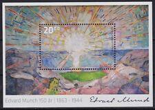 2013 Norway Edvard Munch 150th Anniv.  Painting Min Sheet NK 1841 MNH