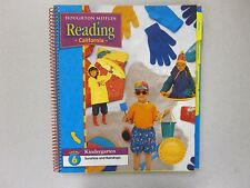 Houghton Mifflin Reading Kindergarten Teacher's Edition Theme 6 CA ed 0547033508