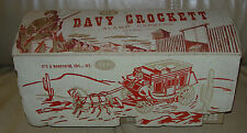 IDEAL  DAVY CROCKETT ALAMO EXPRESS  FIX-IT STAGE COACH  BOXED 1950'S