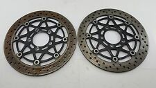 04-05 GSXR 600/750 & 03-04 GSXR 1000 FRONT BRAKE ROTORS *SET* 298MM - X273