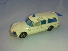 CITROEN DS 21 AMBULANCE MAJORETTE #206 BLANCHE  1/65