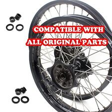 CASTING HONDA  ENDURO WHEEL RIM SET FOR CRF250R 04-13 CRF450R 02-12  21/18 BLACK