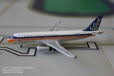 Aeroclassics Jetblue Airways Airbus A320 in Retro Color Diecast Model 1:400
